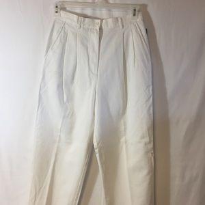 [Ralph Lauren] white cotton pants new tags vintage
